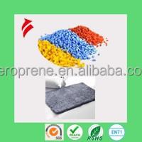 TPE granules for floor mat application