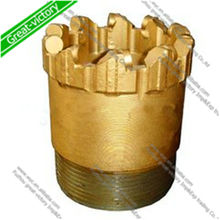 Core bit with HQ/NQ/BQ/AQ/PQ for diamond drilling