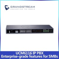 Cheap IP PBX System UCM6116 2 FXS 16 FXO SIP Video Call Video Conference Video Surveillance