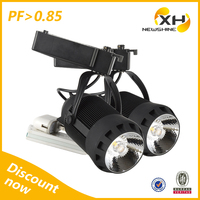 Commercial Lamp 3 phase jewelry art gallery led track spot light 220v