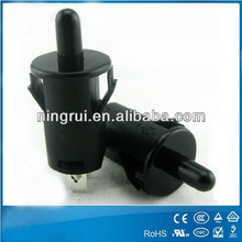 high quality 2 pins black electrical push button switches