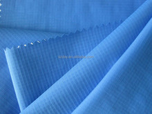 waterproof pu coated nylon taslon fabric