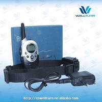Rechargeable Anti bark collar 1000M distance control waterproof item