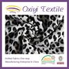 Black White Polyester& cotton Flocking Printed Velvet Sofa Fabric Silk Velvet for Upholstery