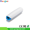 Guoguo pink portable li battery slim 18650 mobile power bank 2200mah for iphone 6