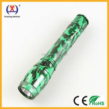 new camouflage color plastic emergency HX-6288 torch led flashlight