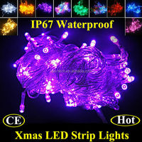 2015 IP67 Wedding Party Festival Christmas Decoration LED String, outdoor christmas street light decoration