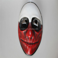 Payday 2 The Heist Mask Payday Wolf Mask halloween resin mask