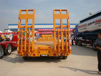 Yalong trailer high quality utility trailer 3 Axles steel quality Low bed Semi Trailer