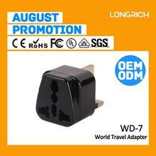 China Supplier 16 amp plug and socket,china travel adaptor usb 2.1a