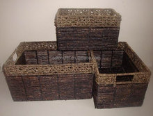 hot trendy products eco-friendly cheap wicker basket with handle
