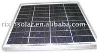High efficiency Poly Solar Module 25W