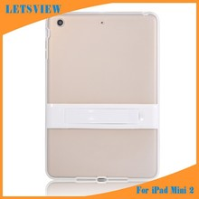 LETSVIEW Durable Luxury Smart Cover Sale Protective Soft TPU Crystal Skin Clear Shell Housing Case for Apple Ipad Mini 1/2/3