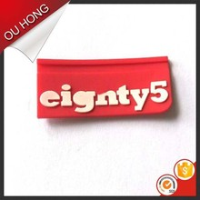 High Quality Customized Garment Labels 3D PVC Rubber Silicon Label Patch