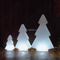 LED color changing Holiday living christmas trees lamp