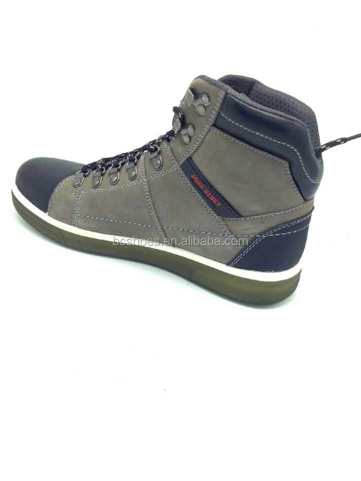 cheap steel toe safty boot genuine leather safety boots