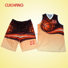 2015 fashion basketball uniform LQF-011