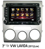 for VOLKSWAGEN LAVIDA(2011) 7 inch two din Car DVD Player with GPS,bluetooth
