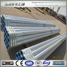 astm a53 ms hot dipped galvanized steel pipe