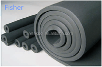 Good manufacture pvc rubber foam heat insulation tube/pipe for HVAC