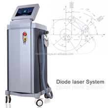 Germany imported laser bar and big spot 808nm diode laser hair removal