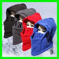 2015 Thermal Fleece Balaclava Hat Hood Ski Bike Wind Stopper Face Mask New Caps Neck Warmer Winter Fleece Motorcycle Neck Helme