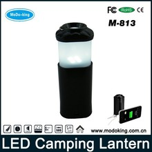 Lantern Outdoor Emergency Camping Gear 7800mAh, Cell Phone Charger LED Flashlight