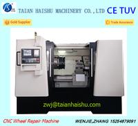 CK6180W professional digital rims repair machine used for refurbished alloy wheels