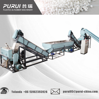 PP/PE film recycling washing line /friction machine/waste plastic recycling line