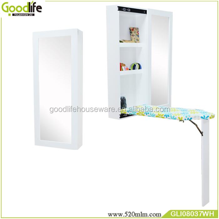 GLI08037Goodlife wall mount iron board with dressing mirror-1
