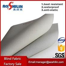 Pvc coated waterproof anti-uv roller solar screen fabric