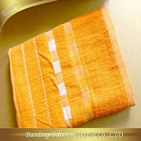 goods from china supplier plain dyed with border bath towel wholesale 26*52""