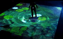 All-in-one Interactive Floor System Projection more than 100 Effects