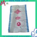 El embalaje/transporte/alimentos/pp bolsas tejidas de producción