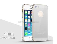 2 in1 Dual Color Luxury Metal Bumper Case for iPhone 6 6+,luxury bumper metal aluminum hard case cover