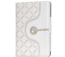 Luxury Crystal Diamond Leather Stand Smart Case Cover For iPad Mini 2 3 Retina