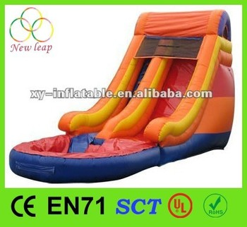 2014 top sale inflatable water slide for kids and adults