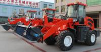 zl918 small wheel loader mini snowplow china CE