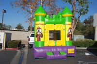 Cute cartoon theme inflatable bouncy castle commercial made in china M2054