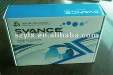 electric packaging with 1/S glossy lamination on 250gsm duplex board mounted onto E fluting cardboard