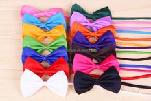 Wholesale Multi-colors Pet Tie Dog Bows Pet Accessory PT010