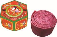 Best quality celebration Red Cracker chinese cracker for new year christmas Fireworks firecracker for sale