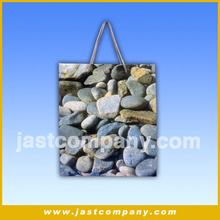 Recyclable Packaging Logo Printing Tote Musical Paper Bag