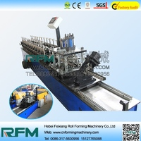 FX Used Roller Shutter Door Roll Forming Machine For Europe