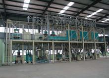 Maize/corn flour milling machinery complete plant