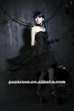 China fornecedor desinibida preto flores de tecido para vestidos feitos na china q-171