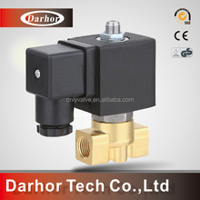 Brass or Stainless steel with top M5 3/2 way solenoid valve