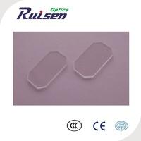 Optical square glass plate,bk7/k9,b270,fused silica,sapphire