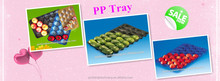Buyer Protection Factory Directly OEM Accept PP Fruit Tray
