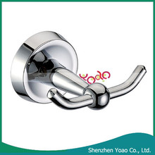 Best Quality Brass Chrome Wall Mounted Double Coat Hook
